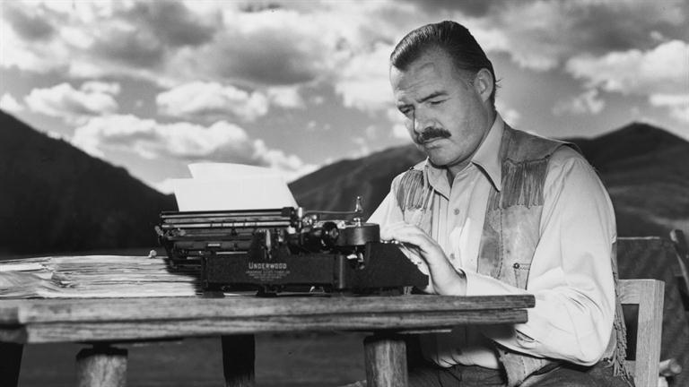 man, typing, black and grey, typist